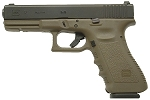 Glock 17 Generation 3 9mm  OD Green